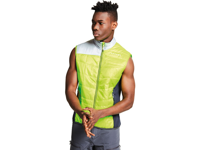 Dare 2b Systematic bodywarmer Heren, electric lime/outerspace blue